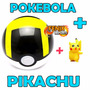 Pokémon Pokebola Aliança Pokeball Poke Ball + Pikachu