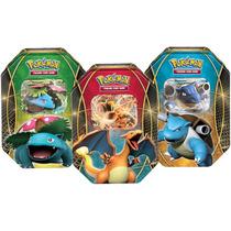 Pokemon Lata Power Trio Ex (3 Latas)
