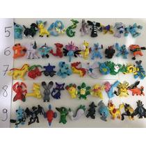Miniatura Pokémon Grande 3-5 Cm. Kit C/ 10. Escolha Um Grupo