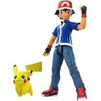 Boneco Pokémon Xy Ash E Pikachu