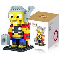Heróis - Blocos Estilo Lego Loz - Thor - Frete Barato