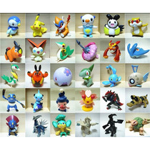 10 Miniaturas Pokemons + Pokebola Pokemon