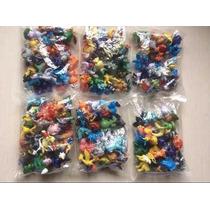 Kit Com 20 Miniaturas Pokemon Coleção