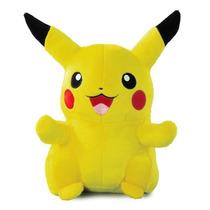 Pelucia Pokemon Pikachu Anime Pokebola 30 Cm