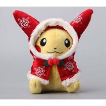 Pikachu Natalino Pelúcia Pokemon -pronta Entrega