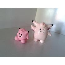 Miniatura Boneco Lote Pokémon Para Colecionadores Clefairy