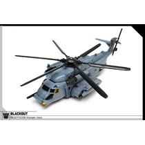 Helicóptero Robo Transformers Blackout+scorponok