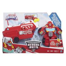 Transformers Rescue Bots Heatwave Vira Caminhao Bombeiro