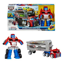 Conjunto Trailer Optimus Prime Transformers Rescue Bots
