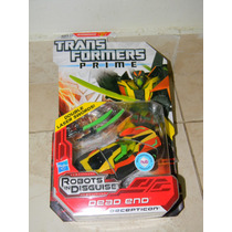 Transformers Prime Robots In Disguise Dead End Raridade