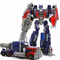 Boneco Transformers Optimus Prime De 18cm Novo...