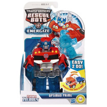 Kit 4 Transformers Rescue Bots Energize Bumblebee Copter Bot