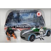 Transformer Sideswipe Winter - 12x Sem Juros Pronta Entrega