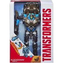 Transformers Age Of Extinction Flip Change Lockdown Hasbro