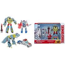 Transformers Optimus Prime Silver Knight And Grimlock Novo