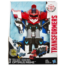 Transformers Ridisguise Mega Step Optimus Prime 29cm Hasbro