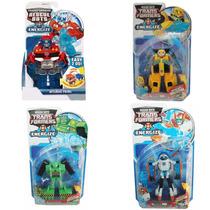 Kit 4 Transformers Rescue Bots Energize Bumblebee Optmus Pri