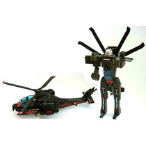 Transformers - Super Gobots - Apache Helicoptero (zb 18)