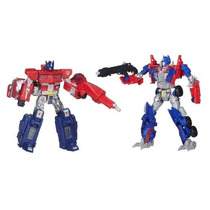 Transformers Then E Now 2 Optimus Prime 1984 E 2014 Hasbro