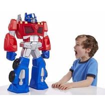 Transformers Rescue Bots Optimus Prime Gigante 57 Cm- Hasbro