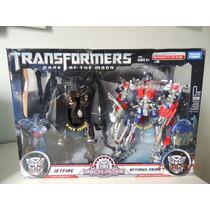 Transformers Optimusd Prime And Jetfire - Takara Tomy - Novo
