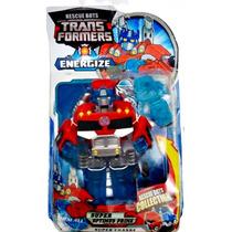 Optimus Prime Transformers Rescue Bots Energize Robô Caminhã