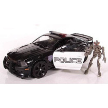 Carro Robo Transformers Barricade E Frenzy - Human Alliance