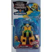 Bumblebee Transformers Rescue Bots Energize Robô Vira Carro