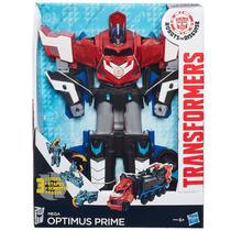 Boneco Optimus Prime 27cm Mega Step B1564 Hasbro