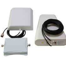 Amplificador Repetidor Celular Funciona P/ Todas Operadoras