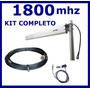 Kit Antena Rural 1800 Mhz Modem Celular Aquario Cabo Pigtail