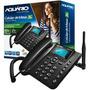 Telefone Celular Rural Fixo Aquario Ca-40 Único Gsm E 3g