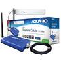 Kit Mini Repetidor De Sinal Celular Aquário Rp-1860 Azul