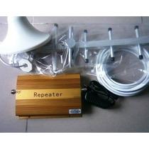 Kit Amplificador Repetidor Gsm 850mhz 70db P/ Celulares