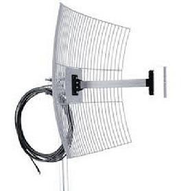 Antena Aquário Direcional De Grade 20dbi + Cabo De 10 Metros