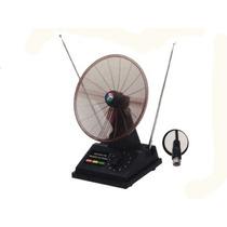 Antena Interna Vhf/uhf/fm 3 Em 1 Mini Parabolica