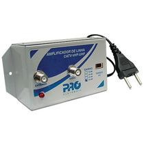 Amplificador De Linha 20db Pqal-2000 Proeletronic