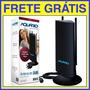 Antena Int. Amplificada Para Tv 4 Em 1 Dtv-4600 Frete Grátis
