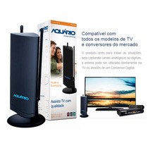 Antena Interna Uhf Vhf Fm Hdtv Dtv-4500 Sinal Digital