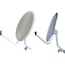 2 Antenas Banda Ku 60 Cm Completa Lnb Universal!!!