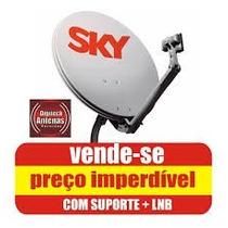 Antena Sky 90 Cm Completa