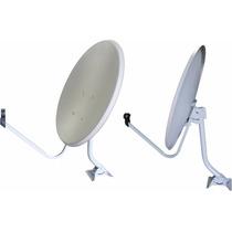 Antena 60cm Parabólica Banda C Ou Banda Ku (05 Unidades)