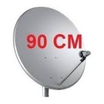 Antena 90cm Banda Ku+lnb Em Promoção Top De Linha