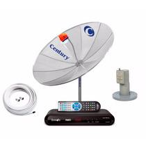 Antena Parabolica Century Multi 190cm Digital Analógica Hd