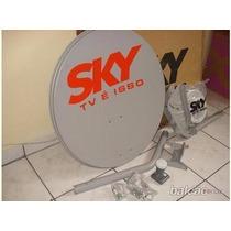 Antena Banda Ku 60 Cm Sky + Barato