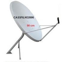Antena Ku De 90 - Nova, Na Caixa(sem: Lnb, Cabo E Conector)