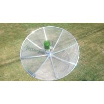 Frete Grátis Antena Parabolica 150cm Analógico + Lnbf + Cabo