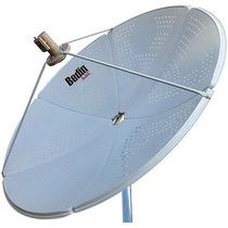Antena Parabólica Chapa 1,5m Banda C/ku Bedin Sat