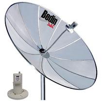 Kit Completo De Antena Parabólica 1,50m Monoponto/cabo15m