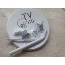 6 Antenas Oi Tv Hd Com 6 Lnb Simples Sem Cabo